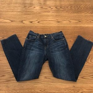 Levi's 505 Straight Dark Blue Denim Jeans